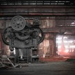 Stock Photo: Old, metallurgical firm waiting for demolition
