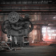 Old, metallurgical firm waiting for a demolition — Stock Photo #30768543