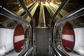New escalator — Stock Photo