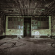 Abandoned industrial building interior — Stock Photo #32555015