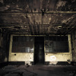 Abandoned industrial building interior — Stock Photo