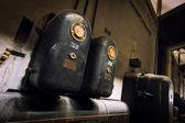 Старые электрические устройства — Стоковое фото
