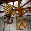 Clock in a factory — Stock Photo #34012695
