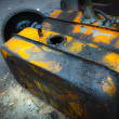 Car petrol tank — Stock Photo