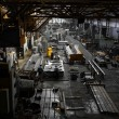 Iron workshop interior — Stock Photo