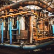 industrial furnace — Stock Photo