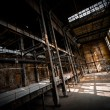 Abandoned industrial interior — Photo