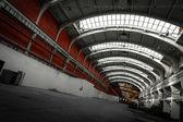 Eski sanayi iç — Stok fotoğraf
