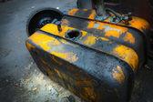 Car petrol tank — Stock Photo