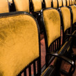 Chairs in an old theater — Stock Photo