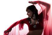 Women belly dancer — Stock Photo