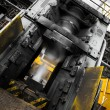 Stock Photo: Steam hammer