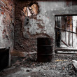 Abandon industrial interior — Stock Photo