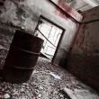 Stock Photo: Abandon industrial interior