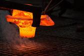 Sıcak demir — Stok fotoğraf