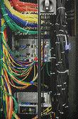 White Server Room Network — Stock Photo