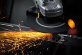Szlifierki elektryczne koła — Zdjęcie stockowe