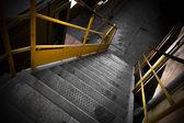 Escadas de ferro — Fotografia Stock