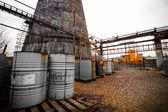 Toxic barrels — Stock Photo
