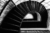 Round stairs — Stockfoto
