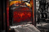 A old furnace — Stock Photo