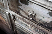 Rustic cupboard — Stock Photo