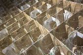 Many new glass — Stock Photo