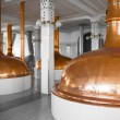 Stock Photo: Brewery building interior