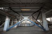 A brewery grain warehouse — Stock Photo