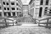 Bitmemiş bir konut kompleksi — Stok fotoğraf