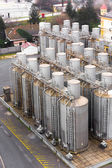 Many silos tower — Stockfoto