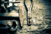 不同的工具 — 图库照片