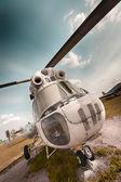 Ambulance helicopter — Stock Photo