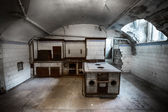 Oude keuken — Stockfoto