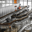 Brewery interior, equipment — Stock Photo