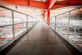 Corridoio interno, birreria — Foto Stock