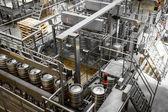 Beer barrel charger, washing — Stock Photo