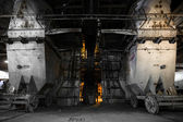 Thermal power plant interior — Stock Photo