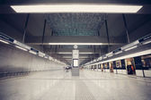 Subway station interior — Foto de Stock