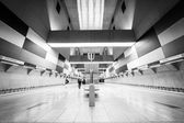 Subway station interior — Stok fotoğraf