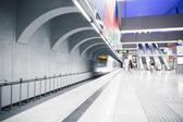Interior de la estación de metro — Foto de Stock