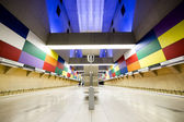 Subway station interior — Stockfoto