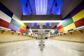 Subway station interiör — Stockfoto