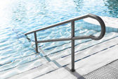 Pool steps — Stock Photo