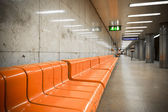 Subway station interior — Stock Photo