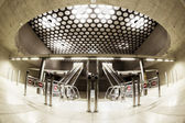Modern station interior — Stock Photo