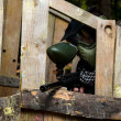 Players in paintball — Lizenzfreies Foto