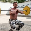 Stock Photo: Front Barbell Squat
