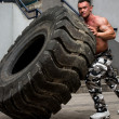 Turning Tires — Stock Photo