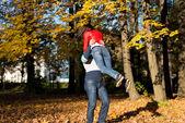 Man Spinning Woman — Stock fotografie